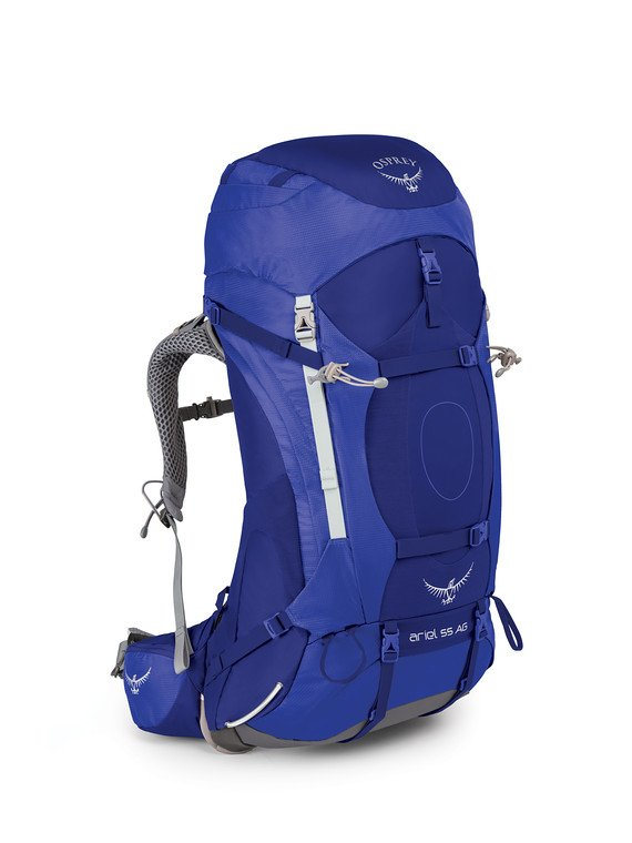 e0d2cdfad28 ARIEL AG 55 WITH RAINCOVER - Osprey Packs Official Site