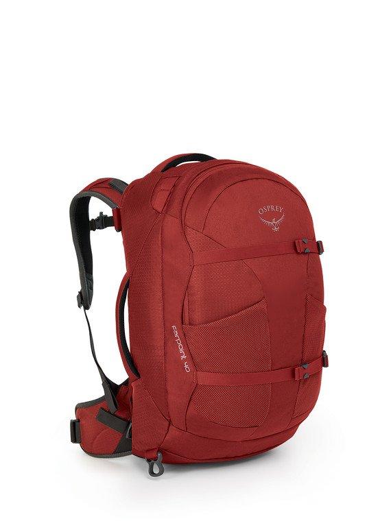 M Jasper Red Osprey Backpack Farpoint 70 S