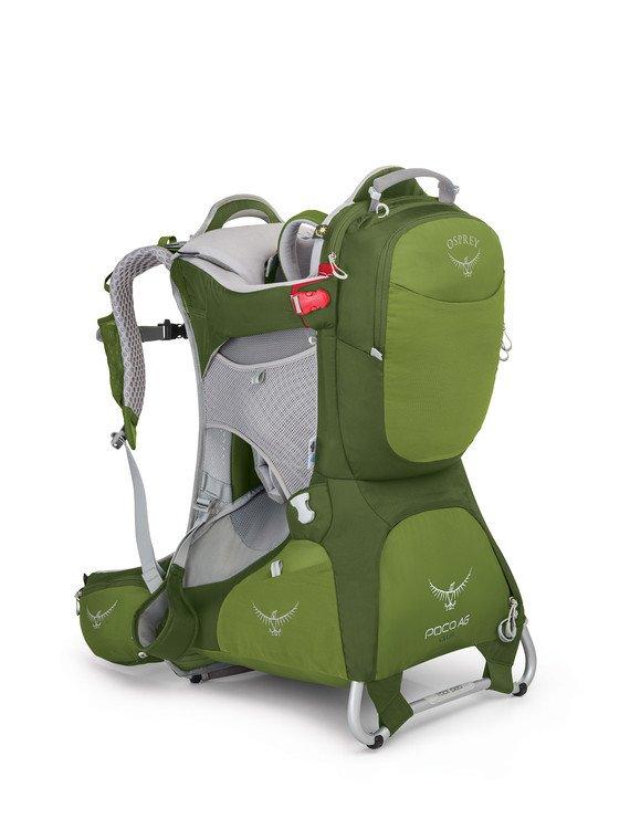 Electric Lime Osprey Packs Poco Rain Cover
