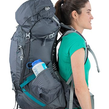 49d4f0183f Dual access stretch mesh side pockets for storing water bottles and other  gear