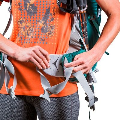 The Fit-on-the-Fly hipbelt
