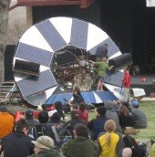 """giving new meaning to """"Solar Array"""""""