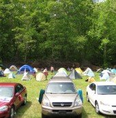 But a small portion of tent city at ATD