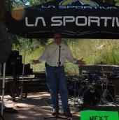 Colorado State Parks Director, Dean Winstanley thanks volunteers.