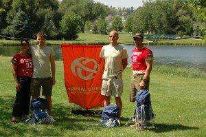 Stacy, Tom, Scott and Kiviok - Team Cordura / Osprey