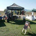 Osprey tent is ready!