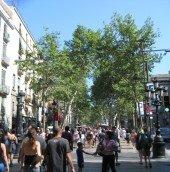 Las Rambles, Barcelona