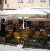 Street Cafe in Nice'