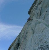 The first 5.12- Zig Zag pitch 18