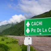 The road to Cachi