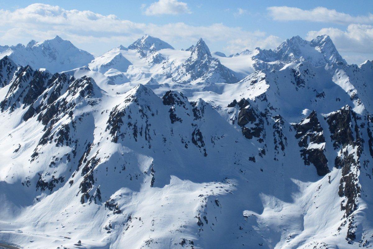 Skiing Fresh Spring Tracks in the Alps   Osprey Packs ...