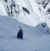 Mt.Philistine-North Couloir 038