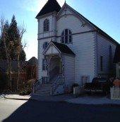 Historic Church in Nevada City, CA