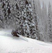Inhaling snow