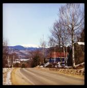 Mount Washington in the distance, New Hampshire. Photo: Majka Burhardt