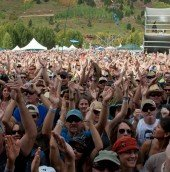 The festival wouldn't be the same without the amazing people! - photo courtesy Telluride.com