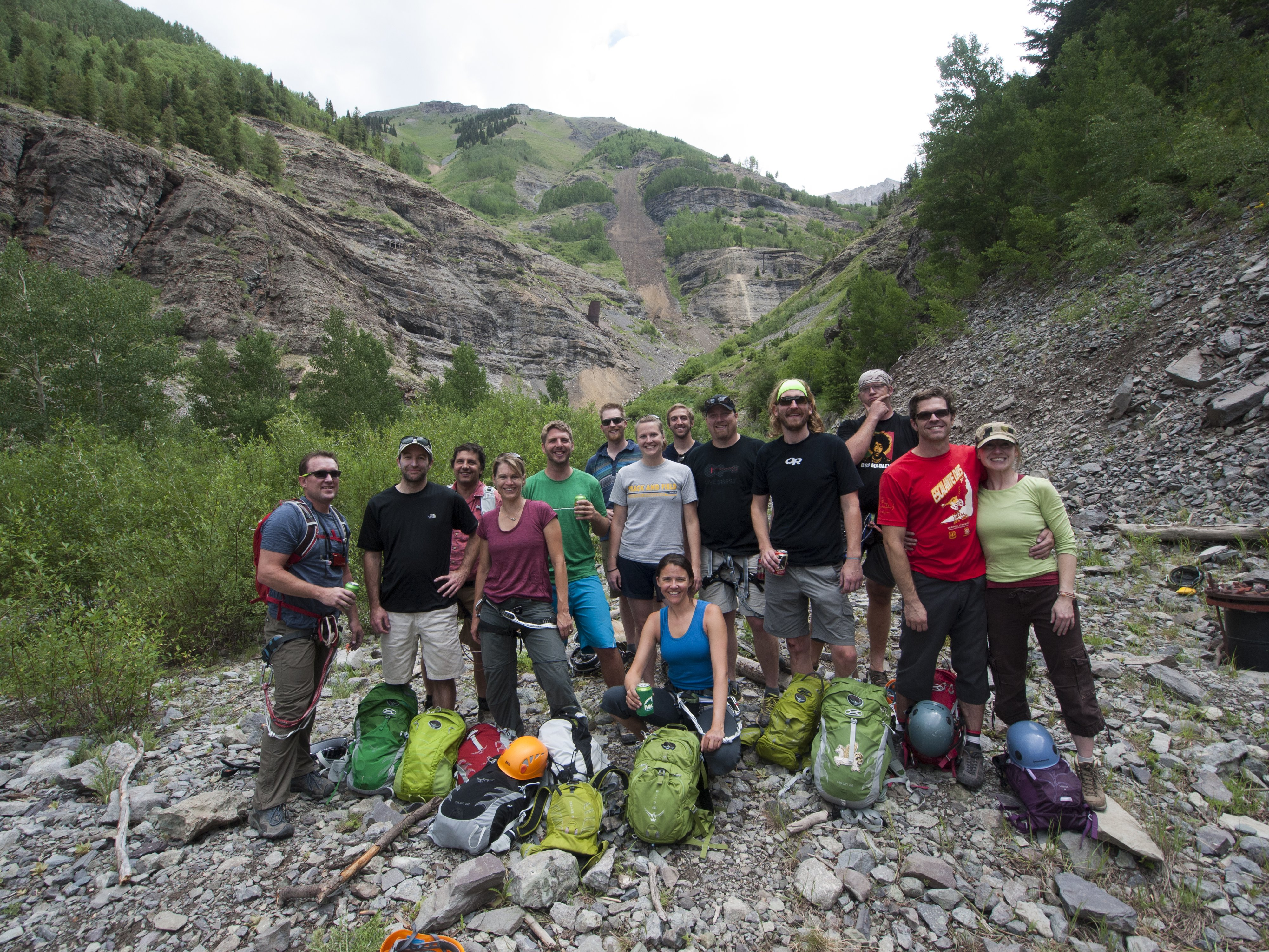 Osprey Pack Via Ferrata Crew 2013