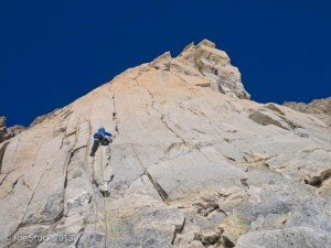 Mountaineering in the Alps, Frace.