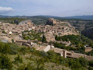 Just another ancient Spanish town on a cliff above some amazing canyons.  Alquezar, Spain