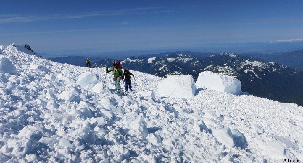 Mt. Baker   Osprey Athletes Andy Traslin & Mike Traslin