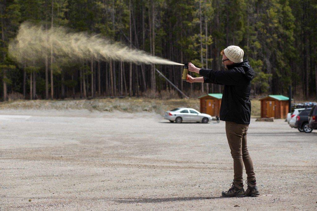 Bear_Spray_Test_Osprey_Packs_Road_Trip