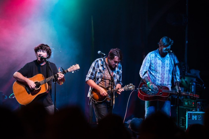 Floyd Fest | 2015 -- Grateful Grass with Keller Williams, Jeff Austin & Jay Starling -- photo by Dan Holz | Osprey Packs