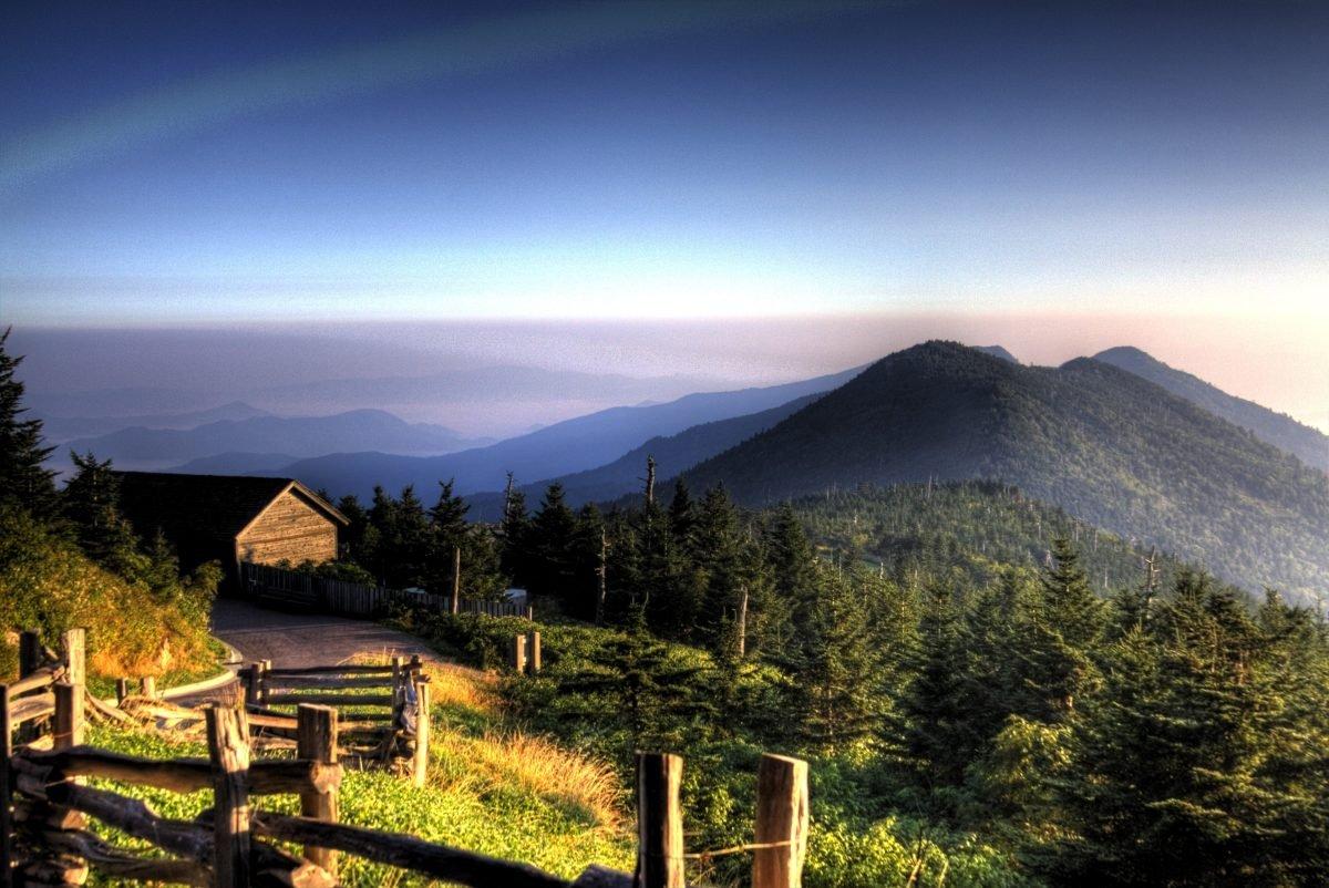 Sunrise at Mt. Mitchell. Image via Kolin Toney