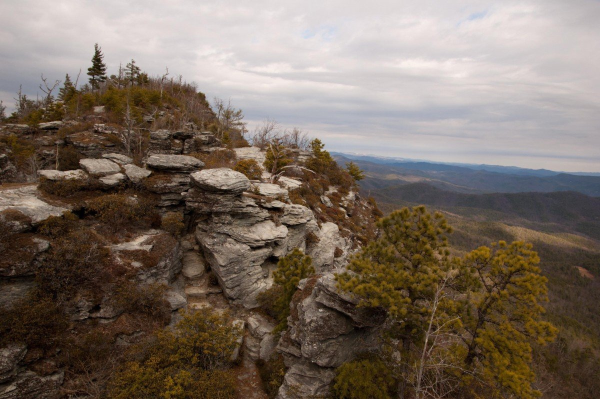 A view from the Mountain to Sea Trail. Image via Joe Giodano