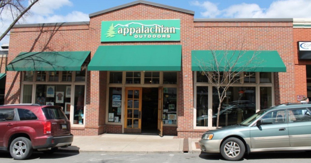 Appalachian Outdoors. Image from the store