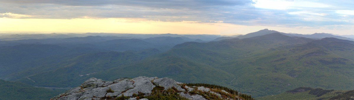 The view from Camels Hump via Niko Brown