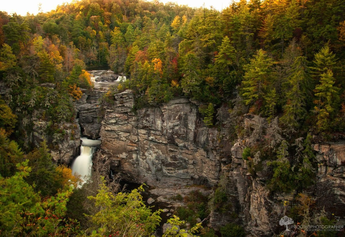 Linville Falls. Image credit Zach Frailey