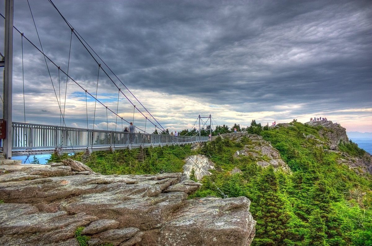 Mile High Swinging Bridge. Image via Manish Vohra