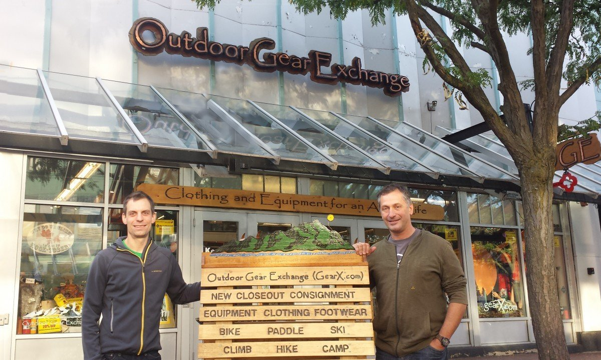 Owners Marc Sherman and Mike Donohue outside OGE. Courtesy of OGE.