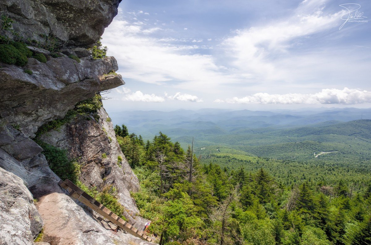 The Grandfather Mountain Trail. Image via Frank Kehren