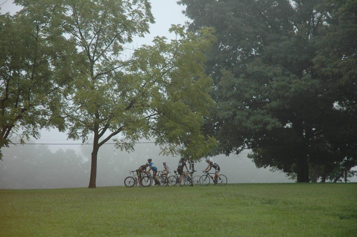 Biking at Nockamixon. Image via Maggie B