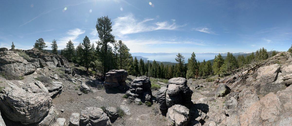 Lake Tahoe Rim Trail. Image via Ben Gallagher
