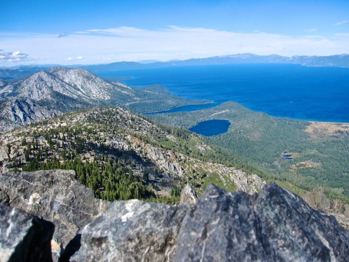 Mount Tallac View. Image via Alma Ayon