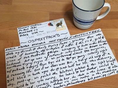 coffe+postcard
