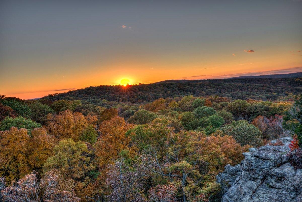 Garden of the Gods Sunset. Image via Michael