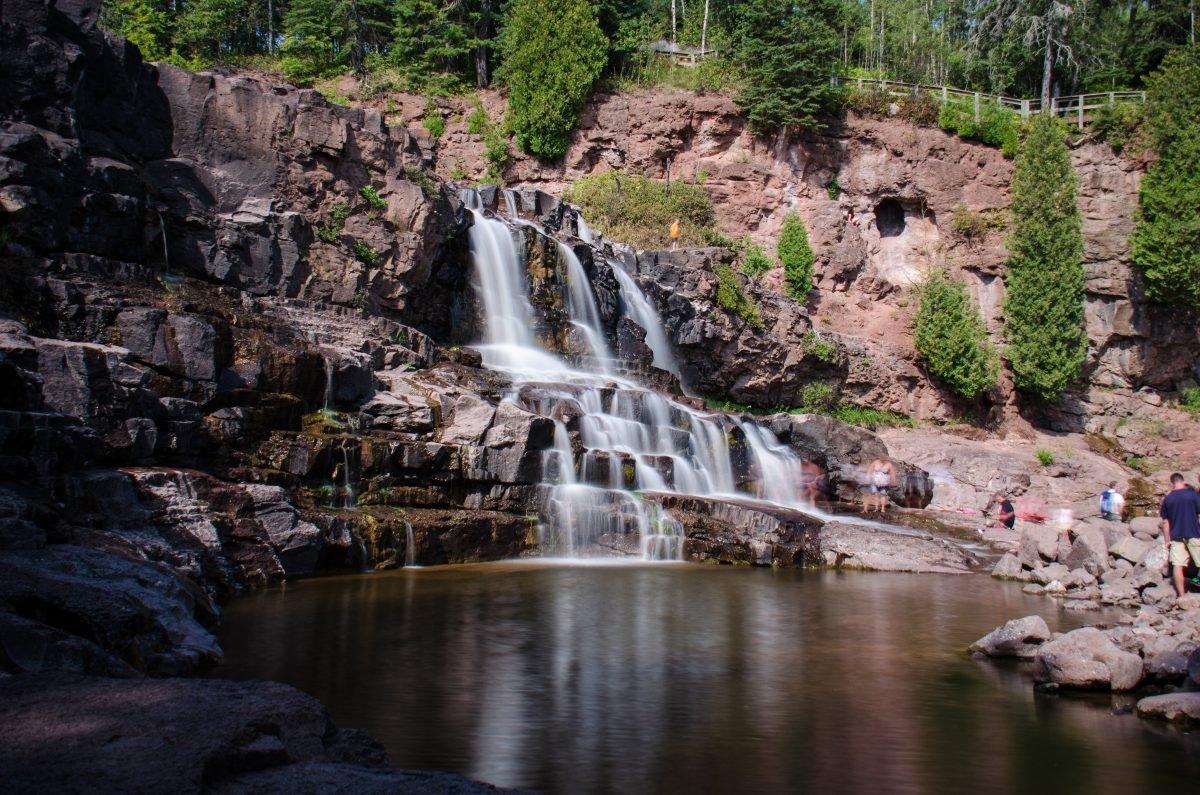 Gooseberry Falls. Image via flickr user m01229
