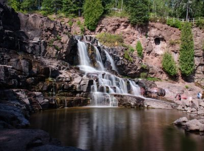 Gooseberry Falls. Image via flickr user m01229