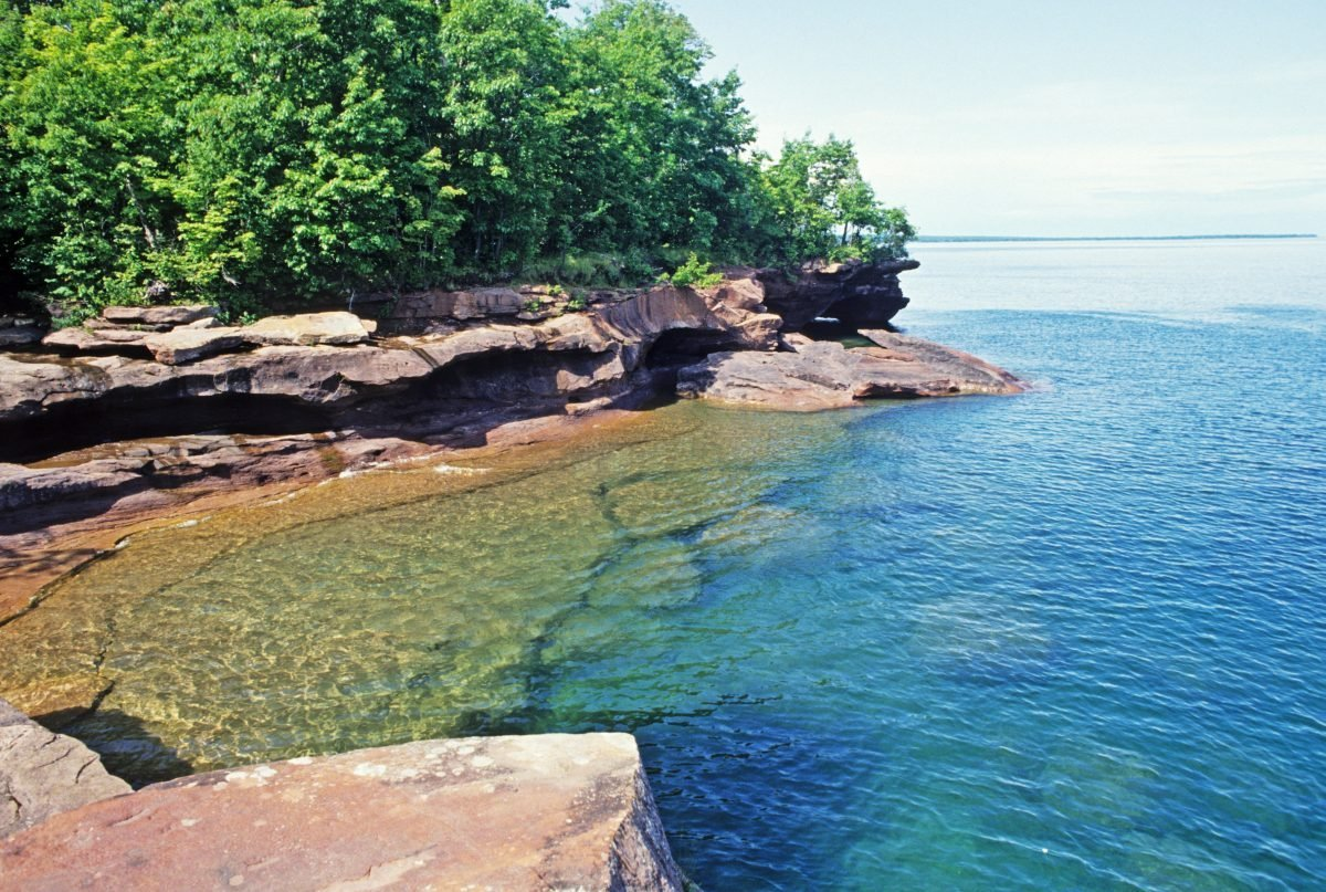 Big Bay State Park. Image via Wisconson Department of Natural Resources.