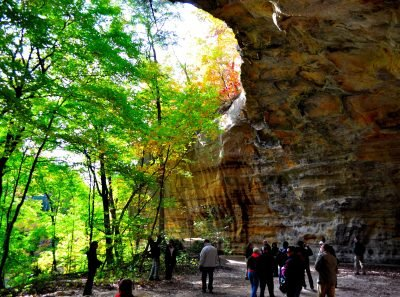 Starved Rock State Park. Image via Flickr user Tom