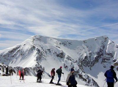 Skiing in Snowbird. Image via Lietmotiv
