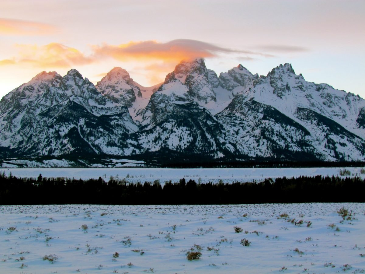 The Tetons in Wyoming are a world-class destination any time of year. Image via Jeff Gunn.