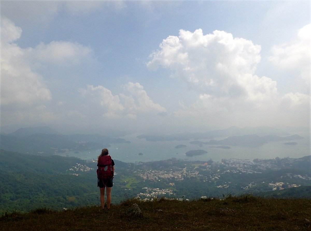 Study aboroad semester in Hong Kong in 2015. Picture taken by Alexandre Richard in section 4 of the MacLehose trail.