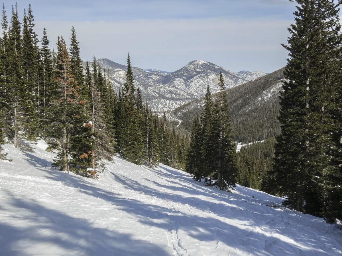 The town of Golden is at the foothills of the Rockies—a great spot for getting into the backcountry at Rocky Mountain National Park.